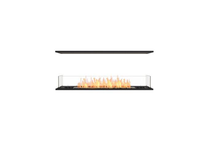 Flex 50IL Island - Ethanol / Black / Installed View by EcoSmart Fire