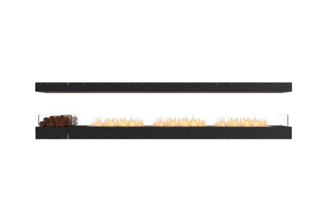 Flex 140IL.BX1 Island - Ethanol / Black / Uninstalled View by EcoSmart Fire
