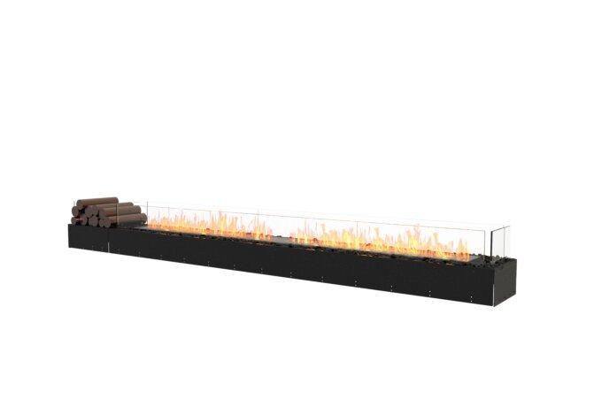Flex 122BN.BX1 Bench - Ethanol / Black / Uninstalled View by EcoSmart Fire