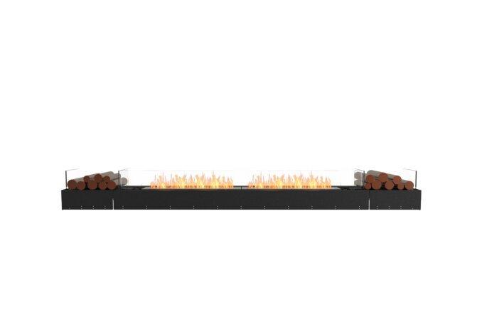 Flex 122BN.BX2 Bench - Ethanol / Black / Uninstalled View by EcoSmart Fire