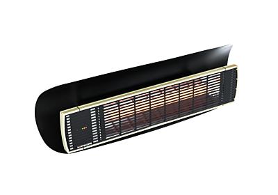 Weathershield 3 Black HEATSCOPE® Accessorie - Studio Image by Heatscope