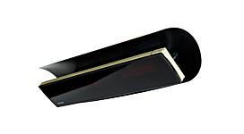 Weathershield 5 Black Heatscope Accessorie - Studio Image by Heatscope