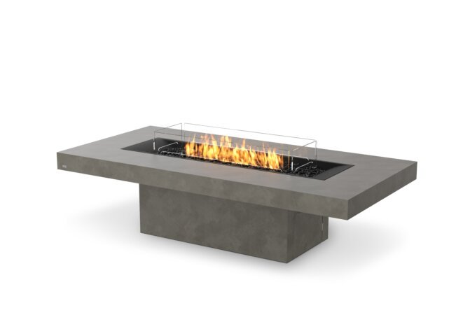 Gin 90 (Chat) Fire Pit - Gas LP/NG / Natural by EcoSmart Fire