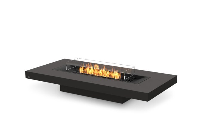 Gin 90 (Low) Fire Pit - Gas LP/NG / Graphite by EcoSmart Fire