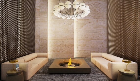 Commercial - Round 20 Fire Pit Kit by EcoSmart Fire