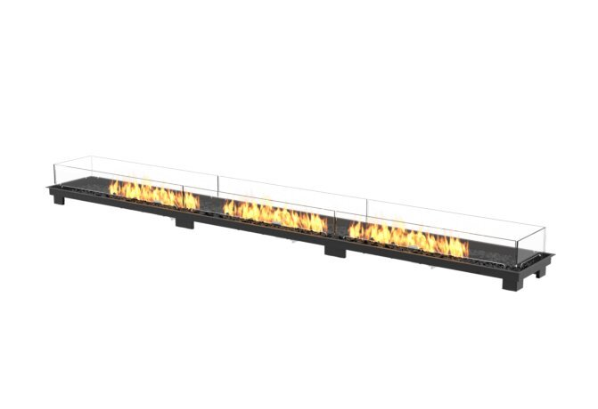 Linear 130 Fireplace Insert - Gas LP/NG / Black by EcoSmart Fire