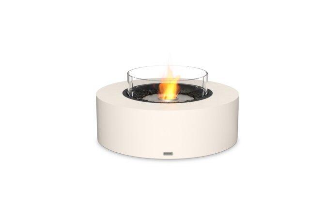 Ark 40 Fire Pit - Ethanol / Bone / Optional Fire Screen by EcoSmart Fire
