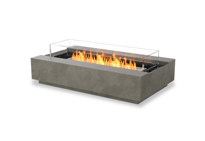 Cosmo 50 Fire Pit - Ethanol / Natural / Optional Fire Screen by EcoSmart Fire