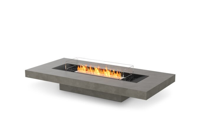 Gin 90 (Low) Fire Pit - Ethanol / Natural / Optional Fire Screen by EcoSmart Fire