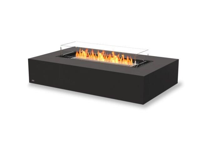 Wharf 65 Fire Pit - Ethanol / Graphite / Optional Fire Screen by EcoSmart Fire