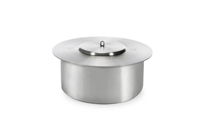 AB8 Lid Safety Accessorie - Stainless Steel / Burner not included by EcoSmart Fire