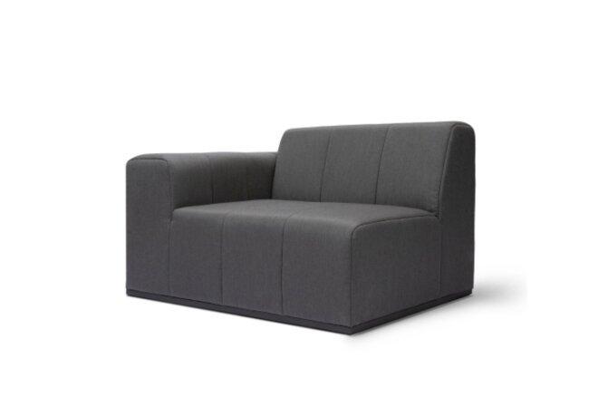 Connect L50 Modular Sofa - Flanelle by Blinde Design