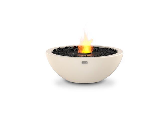Mix 600 Fire Pit - Ethanol - Black / Bone by EcoSmart Fire