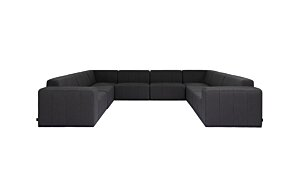 Connect Modular 8 U-Sofa Sectional Modular Sofa - Studio Image by Blinde Design