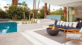 Urth v2 [A] Portable Fire Pit - In-Situ Image by MAD Design Group