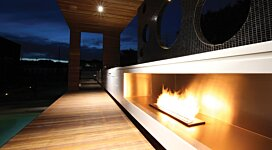 XL900 Built-In - In-Situ Image by EcoSmart Fire