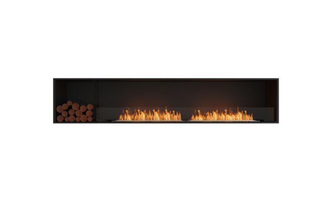 Decorative Box Left - Flex Fireplace Inserts by MAD Design Group