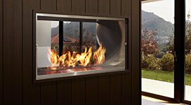 Firebox 1000DB v2 Fireplace Inserts Outlet - In-Situ Image by EcoSmart Fire
