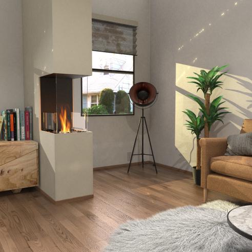 Peninsula Fireplace Inserts
